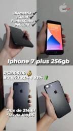 Título do anúncio: iPhone 7 Plus 256GB Preto