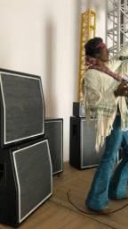 Jimi Hendrix. Woodstock . MacFarlene