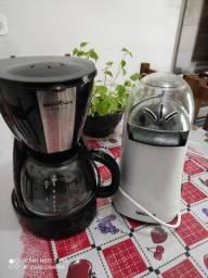 Cafeteira e pipoqueira