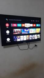 Tv tcl 32 /smartv Android( 9 meses de pouquíssimo uso)