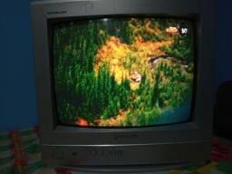 TV Panasonic 14 polegadas funcionando perfeitamente