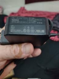 Carregador de notebook e bateria asus