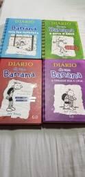 Coleção 6 livros Diário de um Banana