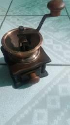 Moedor cafe de bronze Antigo