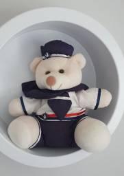 Combo trio de nichos redondos + trio de ursos marinheiros