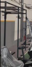 Gaiola de barras para academia/crossfit