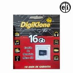 Cartão De Memória Micro Sd 16gb - Entrega Grátis