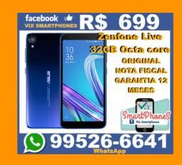 R$699 Zenfone Live 32GB Octa-core caixa/lacrada/garantia Asus 221ppea