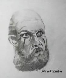 "Desenho ""Floki - Vikings"""
