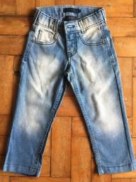 Título do anúncio: Calça jeans infantil azul