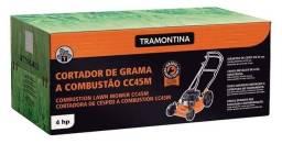 Cortador de Grama à Gasolina Tramontina CC45M 4T 4HP