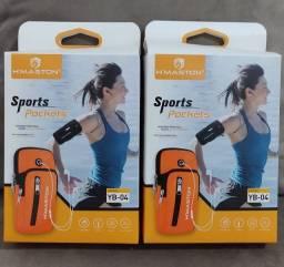 Pochete sports unissex braçadeira
