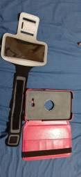 Capinha de Tablet e braçadeira esportiva