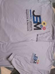 Camiseta para empresas manga longa