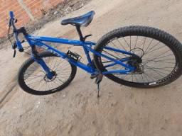 Título do anúncio: Troca bicicleta AR 19 BATTLE tx 970 seme nova com o documento na mão