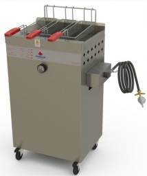 Título do anúncio: Fritadeira Água e Oleo,Progás a gás,20 e 30 litros. Temos Elétrico tbm