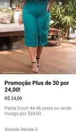 Título do anúncio: Panta Court  e looks plus apenas $ 24,00