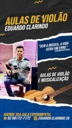 Título do anúncio: Aulas de violão e musicalização