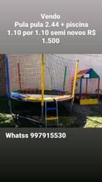 Pula pula e piscina 1.500