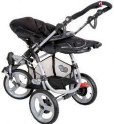 Vendo carrinho e bebê conforto streety try