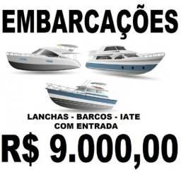Barcos e Lanchas - Parcelamento