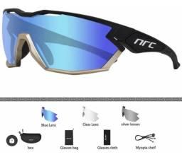 Título do anúncio: Oculos Ciclismo Nrc 3 Lentes Fotocromático Uv 400