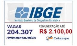 Curso IBGE- aprovação rápida