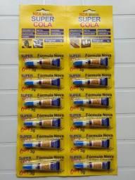 Título do anúncio: Cartela Super Cola (12 unidades)