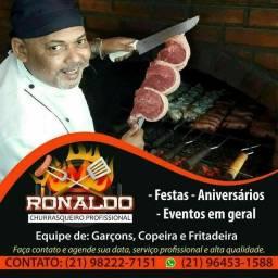 Título do anúncio: Ronaldo churrasqueiro profissional