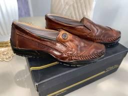 Sapato Social Marrom T-42 Novo, Na Etiqueta