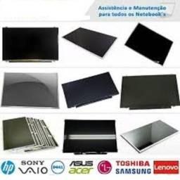 Telas em geral para notebook, LCD e LED, LED Slim