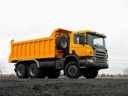 Agregamos caminhão caçamba e equipamentos