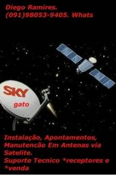 Título do anúncio: Suporte técnico em antenas.