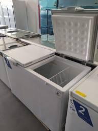 Título do anúncio: Freezer deitado 2 tampas - dupla ação