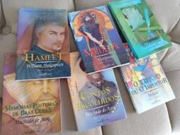 Kit de livros clássicos da literatura