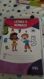 Estou vendendo livros SAS , escola da inteligencia , de inglês infantil 5