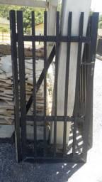 Portao de aluminio