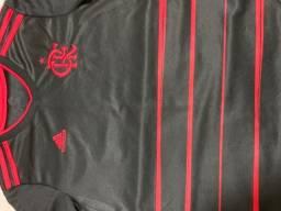 Camisa do Flamengo seminova tamanho 10 personalizada ( Diego Alves + Número )