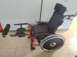 Cadeira de rodas Ortobras AVD Reclinável