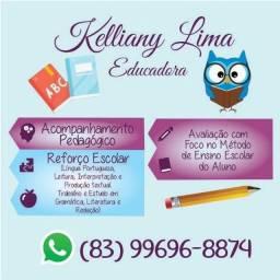 Aulas de Português para reforço escolar, Redação do ENEM e concursos.