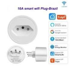 Título do anúncio: Tomada Inteligente Smart Plug Wi-Fi 16A