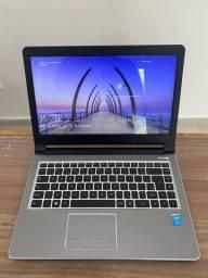 Notebook i3,  HD de 500GB, Memoria 6GB aceito cartão de crédito parcelo em 10X
