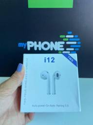 Fones De Ouvido I12 Tws Sem Fio Com Bluetooth 5.0 Para Iphone E Android