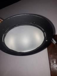 Luminária de teto para forros em geral gersso Madeira pvc