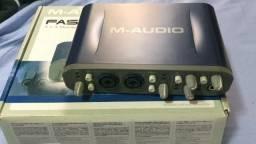 Interface de áudio M-Audio