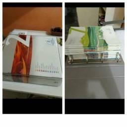 Coleção de livros da Escola Adventista