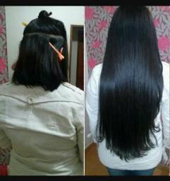 Fibra japonesa idêntica ao cabelo humano