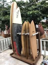 Rack para até 8 pranchas de Surf/SUP/Longboards comprar usado  Balneário Camboriú