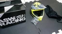 Capacete Asw Fusion 55 56cmm Downhill Freeride Motocross, usado comprar usado  Leme