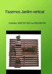 Olha pessoal fazemos Jardim vertical!